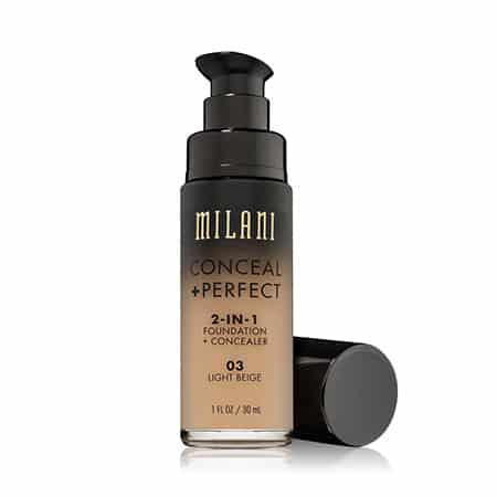 Milani Conceal + perfect 2-in-1 foundation and concealer