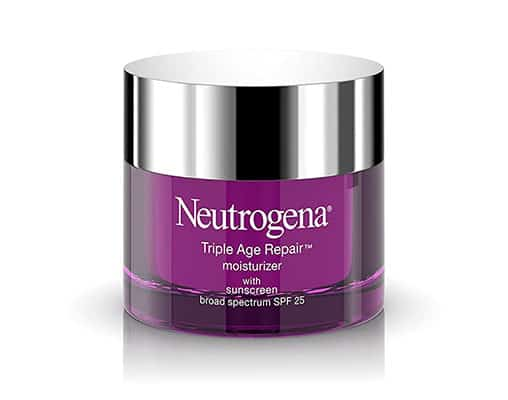 Neutrogena Anti-Aging Facial Moisturizer with SPF 25 - Best anti-aging moisturizer for black skin