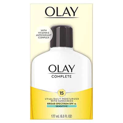 Olay Complete Lotion All Day Face Moisturizer with Sunscreen - Best SPF moisturizer for black skin