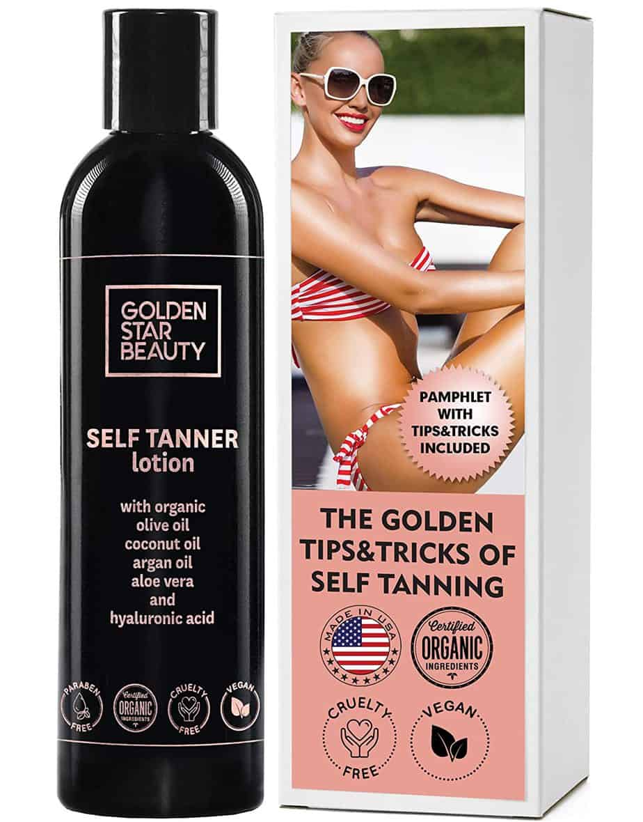 Self-tanner Indoor Tanning Lotion for Flawless Tan from Gold Star Beauty