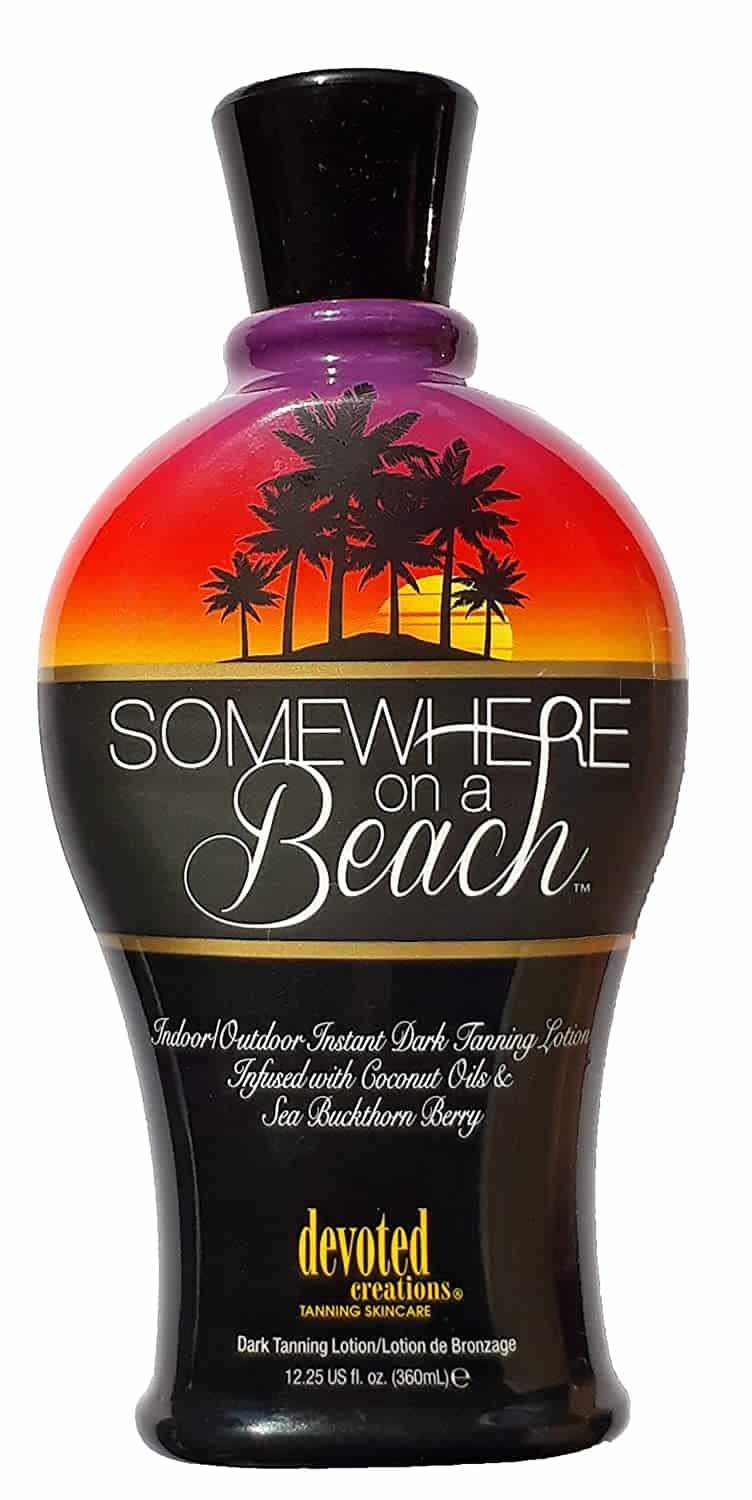 Somewhere on a Beach, Indoor – Outdoor Instant Dark Tanning Lotion