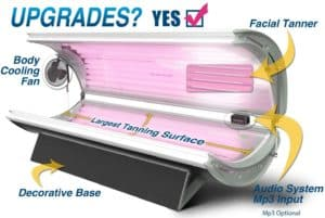 Tanning bed Relaxsun 24 Plus by Prosun