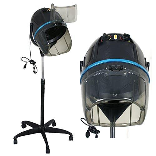 ZENY 1300W Adjustable Hooded Hair Dryer