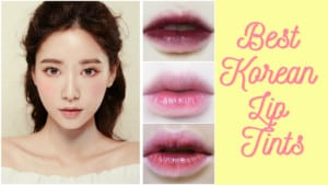 Best Korean Lip Tints