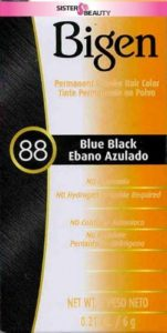 Bigen Blue Black Permanent Powder Hair Color-best blue black hair dye