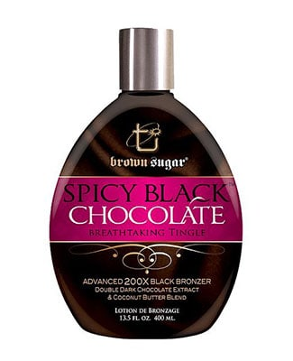 Brown Sugar Spicy Black Chocolate Tingle Tanning Lotion