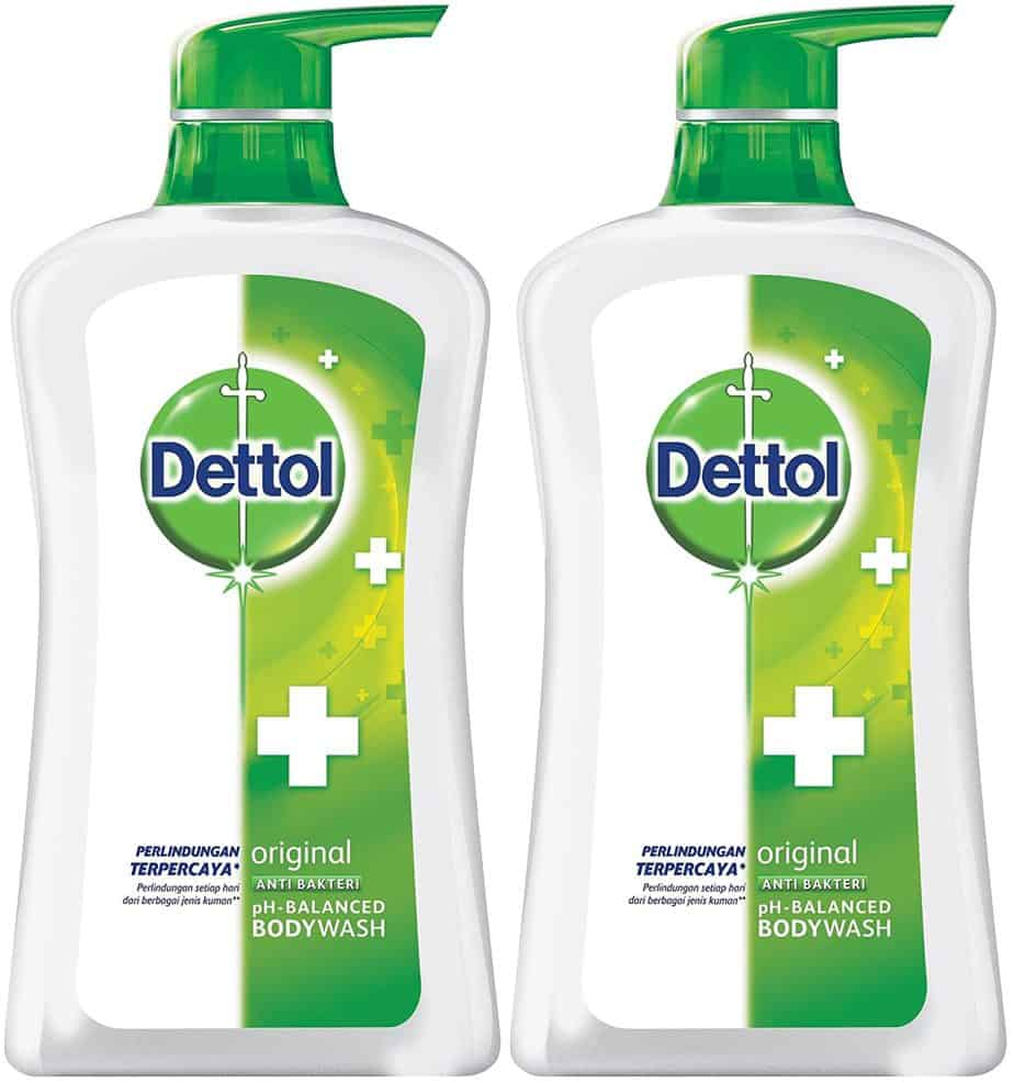 Dettol Anti Bacterial pH-Balanced Body Wash - Best drugstore antibacterial body wash