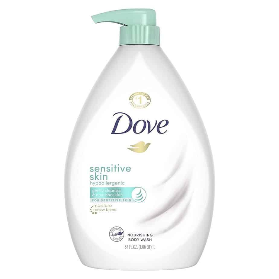 Dove Body Wash for Sensitive Skin - Best antibacterial body wash for sensitive skin
