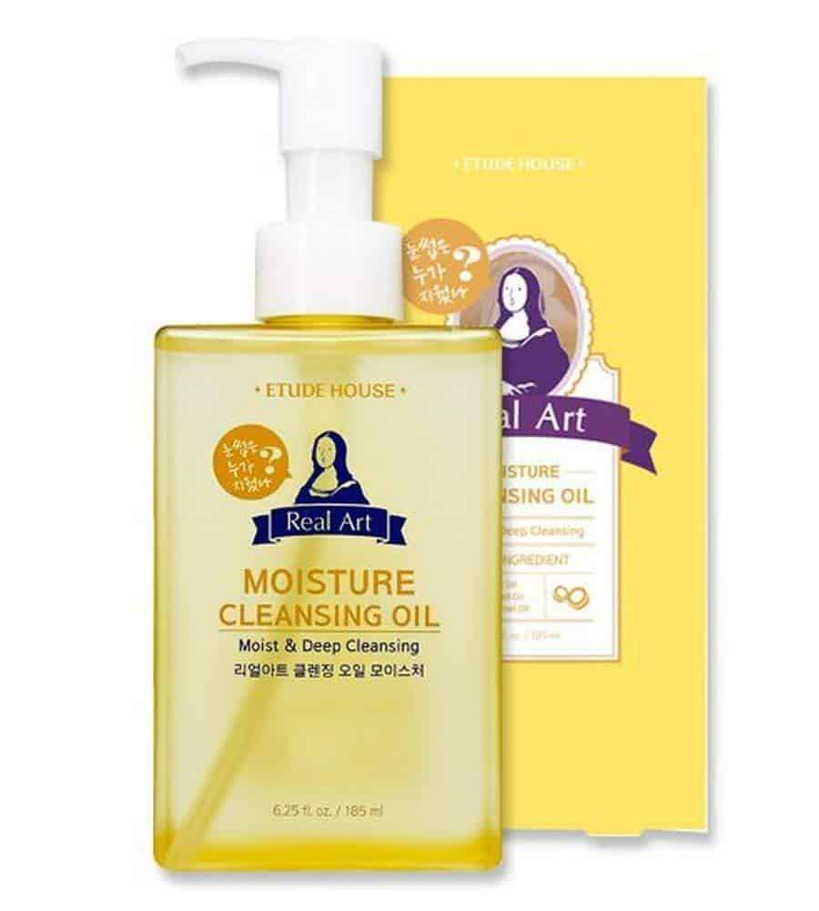 Etude House Real Art Cleansing Oil for Moisture Cream
