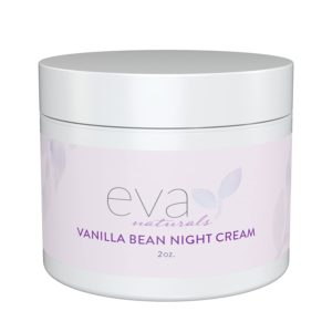 Eva Naturals Night Cream with Vanilla Bean