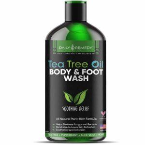 FineVine Organic Antibacterial Tea Tree Body Wash
