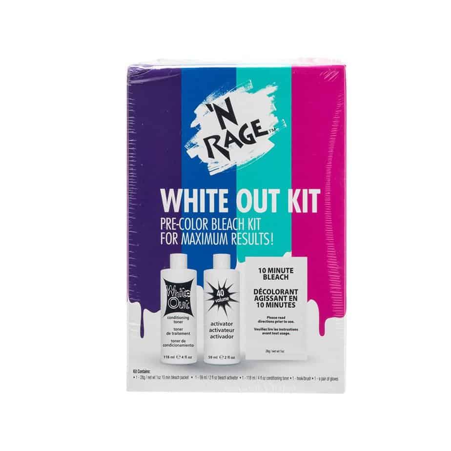 'N Rage bleach and toner kit