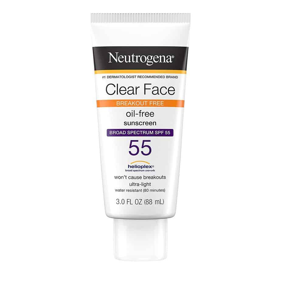 Neutrogena's Facial Lotion With SPF-55