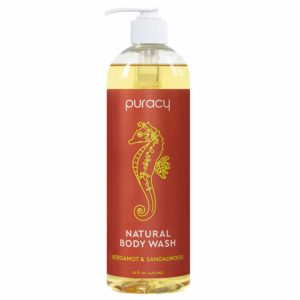 Puracy Natural Body Wash - Best natural antibacterial body wash
