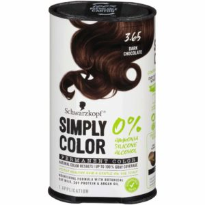 Schwarzkopf Simply Color Permanent Hair Color-best chocolate brown hair dye