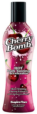 Supre Tan Cherry Bomb Tanning Lotion - best tingle tanning lotion without bronzers