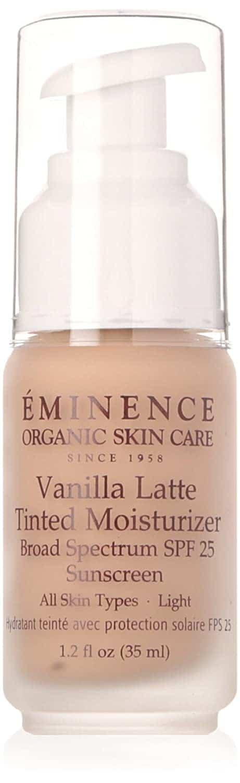 Eminence Vanilla latte tinted moisturizer