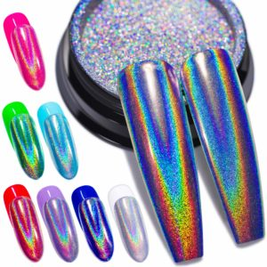 GA & EN Holographic Nail Powder