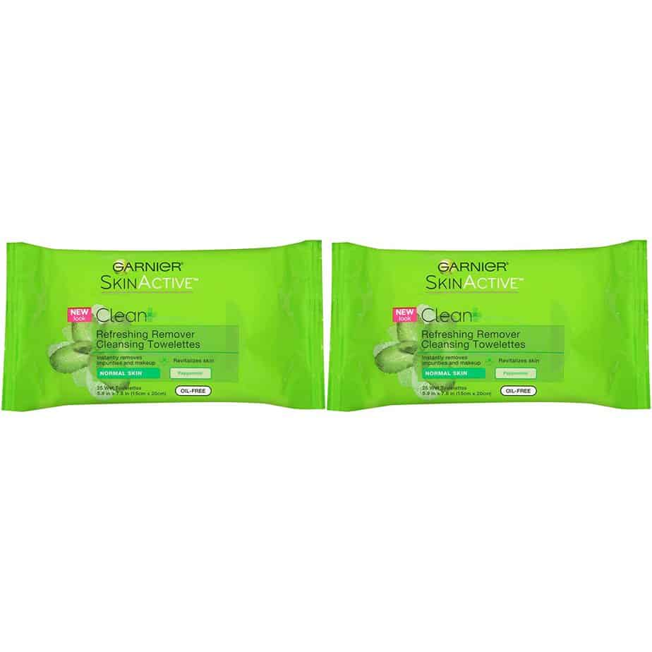 Garnier skin active Clean+Refreshing Makeup remover