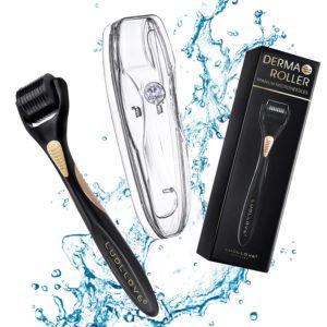 LUOLLOVE Derma Roller Microneedling kit for Beard Growth for Men
