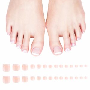 Press On Acrylic Toenail Clips for Women and Girls