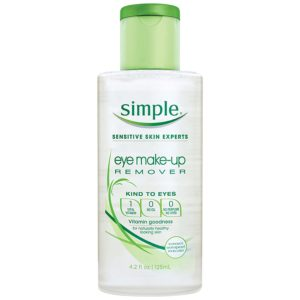 Simple Kind to Eyes, Eye makeup remover