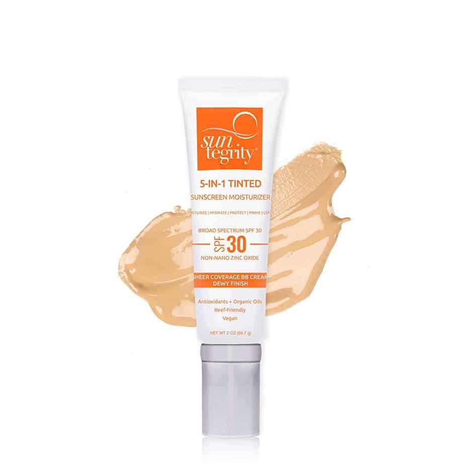 Suntegrity 5 in 1 organic tinted moisturizer