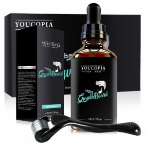 YouCopia Derma roller for hair growth kit