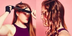 how to use a curling iron?