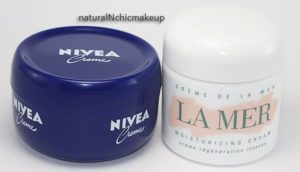 Nivea vs La Mer ingredients