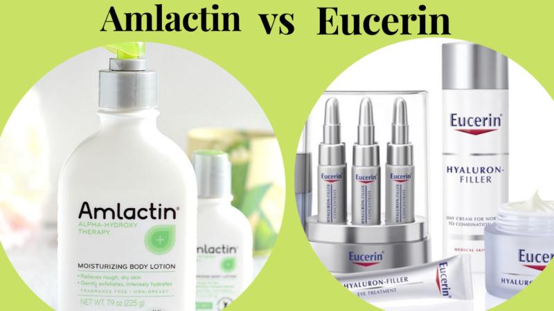 Amlactin vs Eucerin: 2021's Best Brand