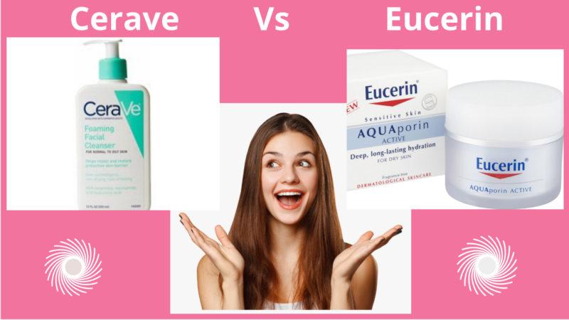 Let's Compare Cerave Vs Eucerin