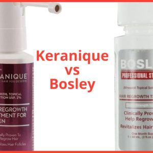 Keranique vs Bosley