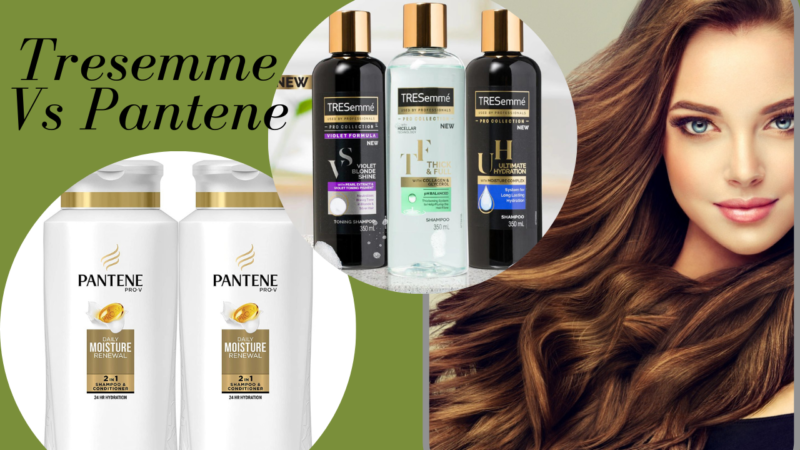 Tresemme Vs Pantene – 2 Best Shampoo To Choose From