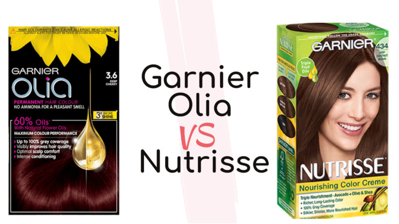 Garnier Olia vs Nutrisse : Best Hair Dye in 2021