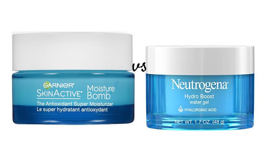 garnier vs neutrogena moisturizer