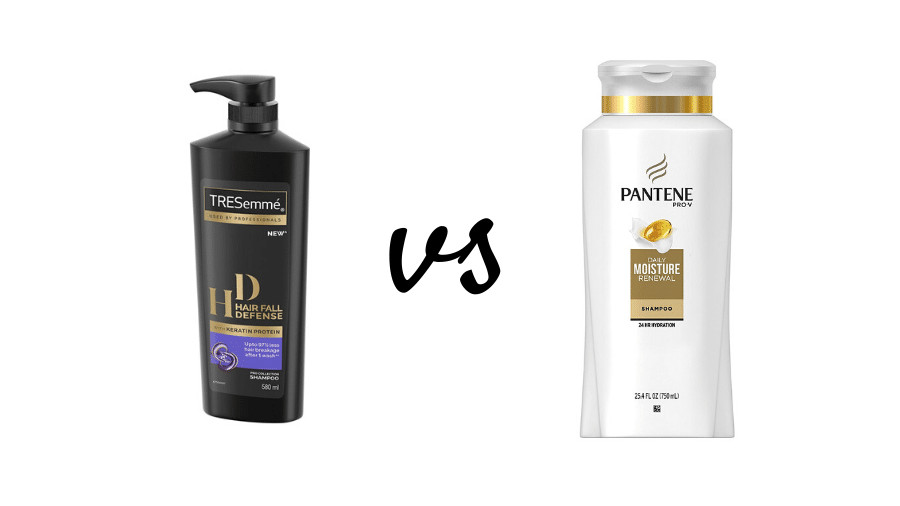 Tresemme vs Pantene Shampoos
