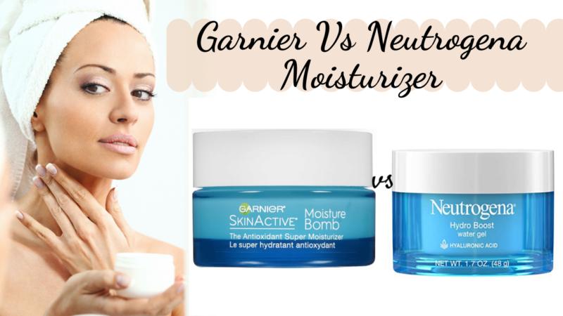 Let's Compare: Garnier vs Neutrogena Moisturizer