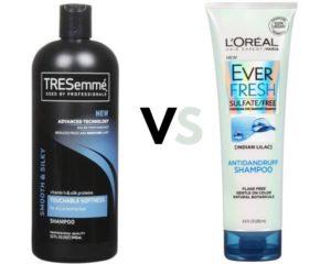 Tresemme vs L'Oreal heat protectant