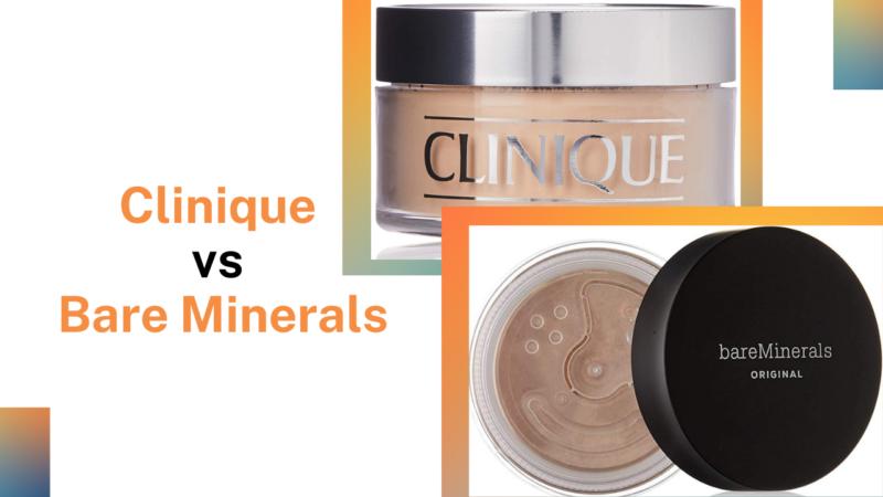Clinique vs Bare Minerals