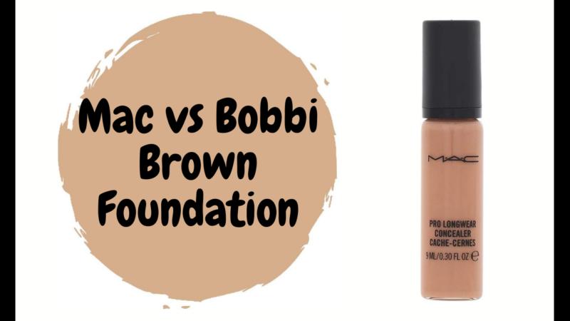 Mac vs Bobbi Brown Foundation Review 2021