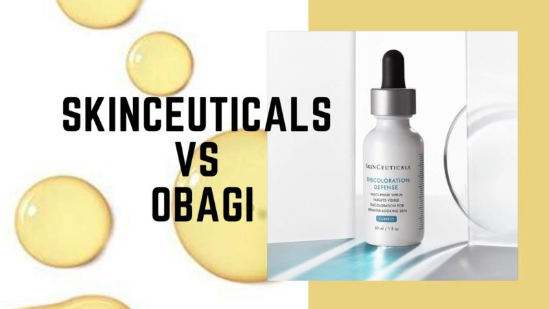 Skinceuticals vs Obagi for Skincare