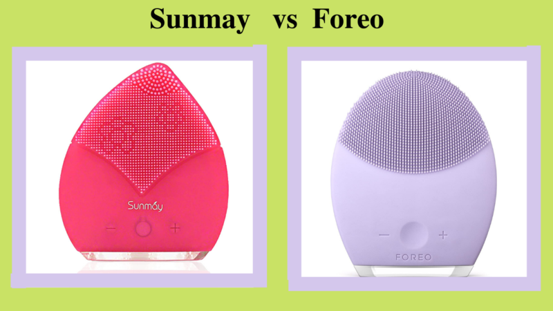 Which Company Is Better For Brush: Sunmay Vs Foreo?