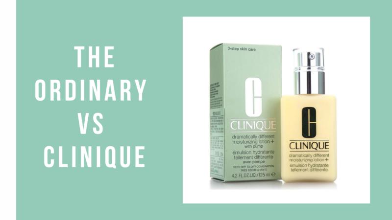 The Ordinary vs Clinique – Best Skincare Brand 2021