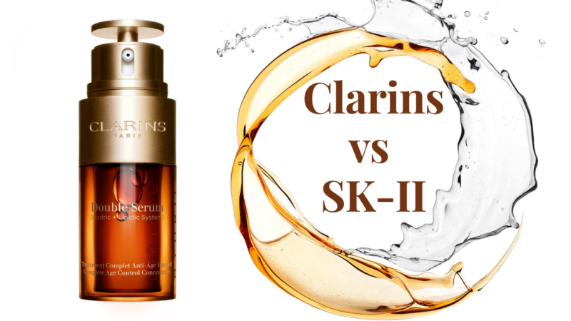 Clarins vs SK-II- among the two, which is better and which is the best