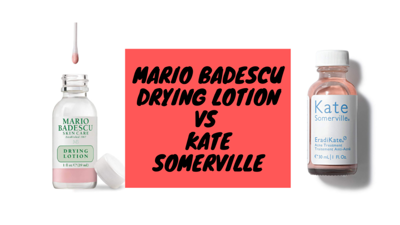 Who Will Win In Mario Badescu Drying Lotion Vs Kate Somerville?