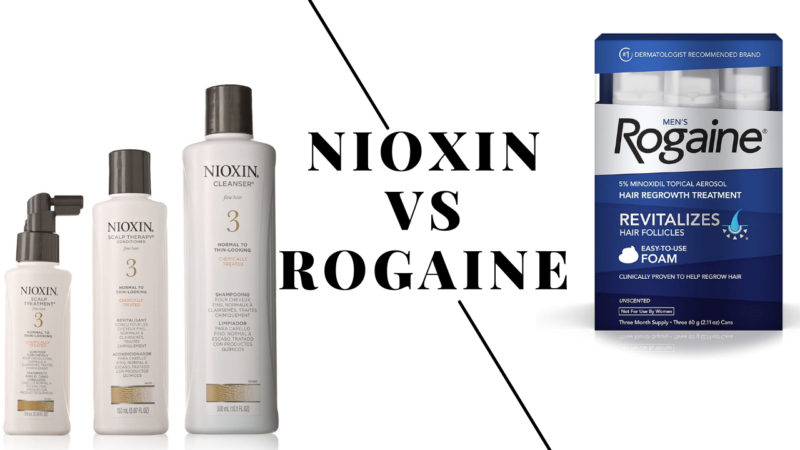 Nioxin Vs Rogaine: Which Is Best Solution For Hair Loss?