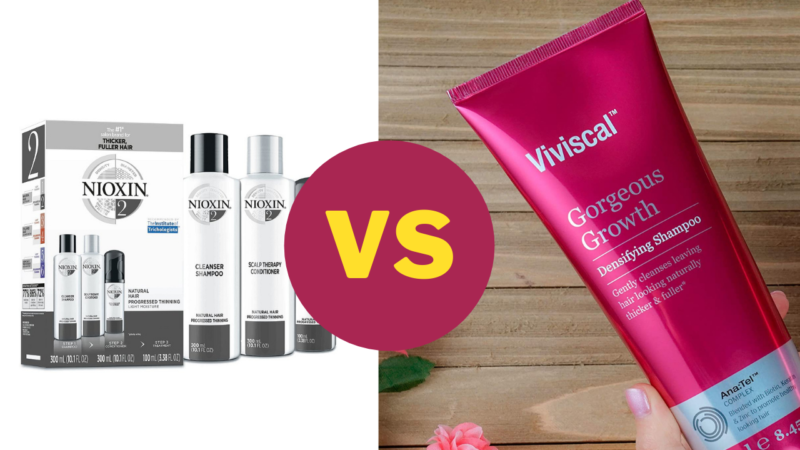 Which Is Better For Your Hair: Nioxin Vs Viviscal?