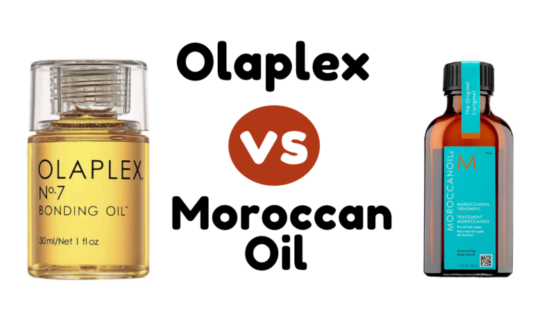 Olaplex vs Moroccan Oil -Select the Best Haircare Solution