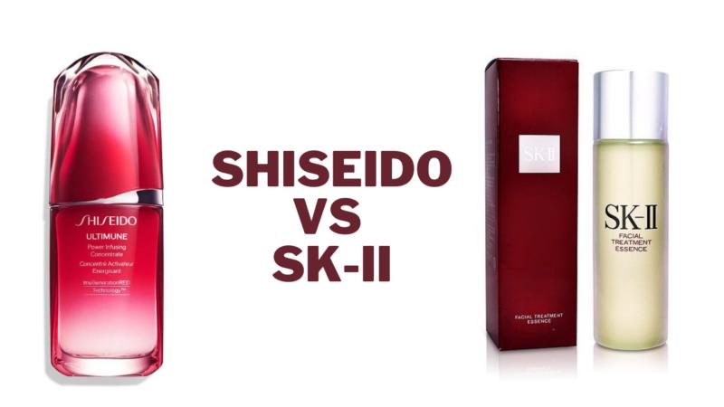 Shiseido vs SK-II: Which One Is The Best Beauty Brand